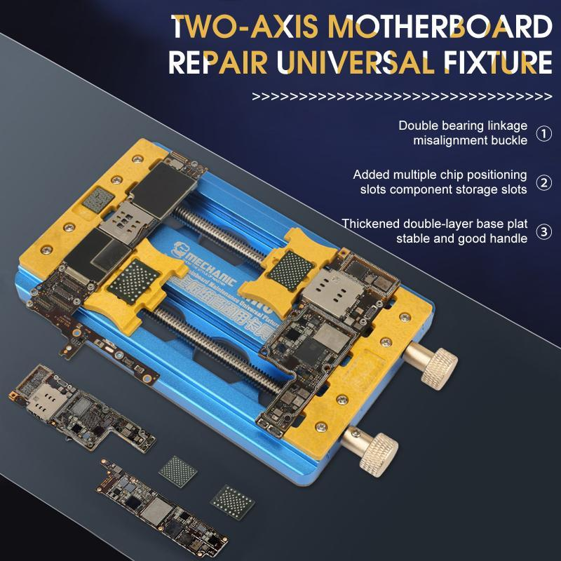 Профессиональные наборы ручного инструмента Универсальный держатель PCB Двойной подшипниковый крепеж для Samsung Huawei материнской платы для пайки инструментов для пайки