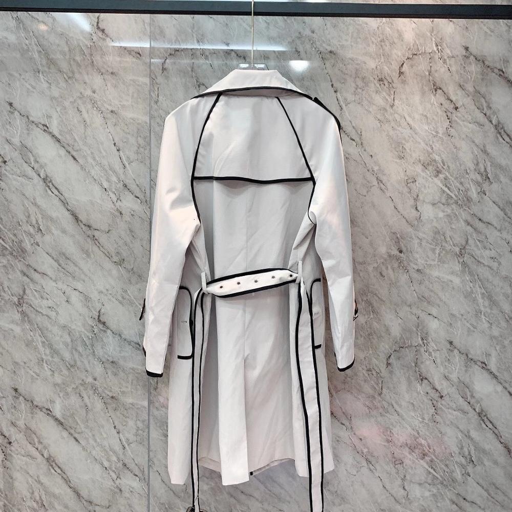 Kadınlar sonbahar ve kış mevsiminde en son rüzgarlık ceket 2021 Moda yakın uydurma saf pamuk gevşek beau gwqk