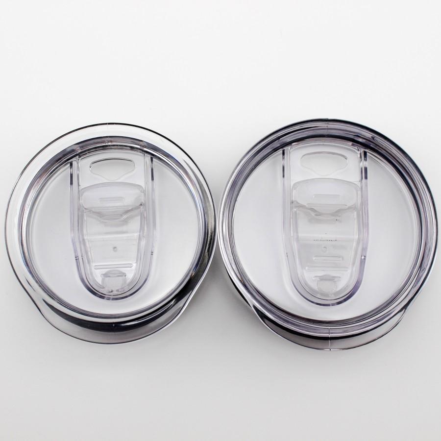 Copos de plástico transparente tampas de drinkware splash splash prova 20 30 oz carros cerveja tumbler canecas tampa owb8187