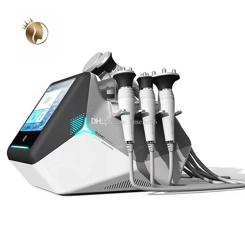 المهنية 40K آلة التجويف بالموجات فوق الصوتية آلة RF 8 في 1 تردد الراديو الوجه رفع شفط الدهون المتعدد الجسم التخسيس الجسم
