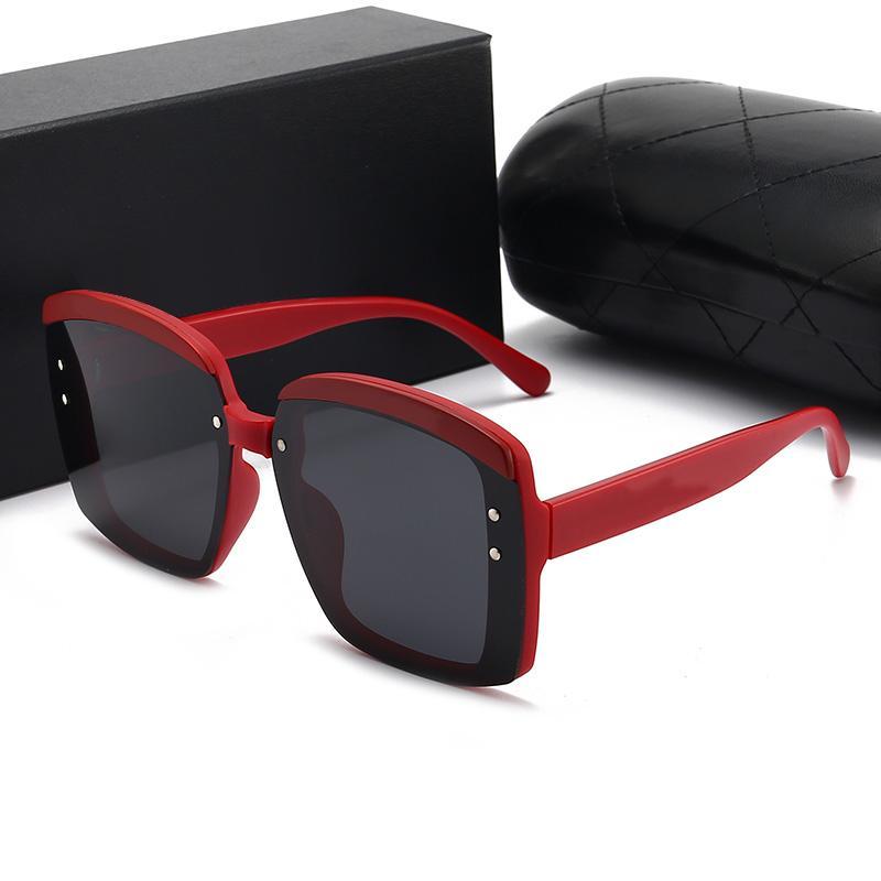 Diseñadores de marca con logo Unisex Gafas de sol de alta calidad UV400 Pllarizing Moda Lujo Classic Playa Conjunto de caja de regalo original