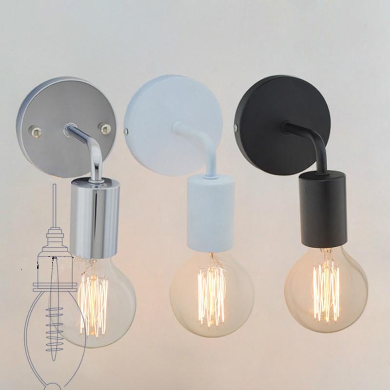 Basit endüstriyel retro koridor ışık oturma odası yemek odası Amerikan yatak odası başucu lambası led kişiselleştirilmiş yaratıcı duvar lambası