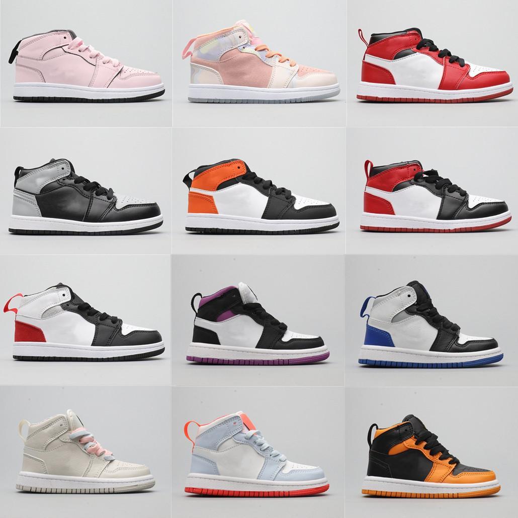 Bebekler Mocha Travis Scotts Basketbol Ayakkabı Çocuklar Merhaba OG Jacks 1 S Toddler Yıldönümü D X AJS1 I MID PJ Tucker Kim Jones Sneaker