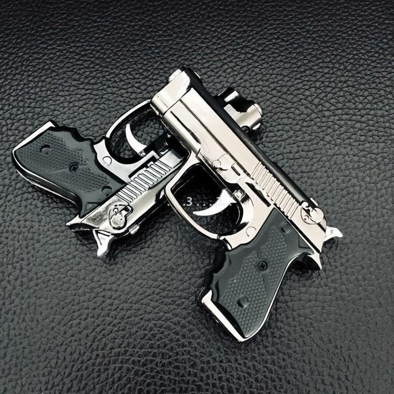 Mini Gun leichter Jet Flame Fackel Feuerzeug Küchenriese Hochleistungs-Nachfüllbarer Micro-kulinarisches Licht für das Rauchen winddichte LED-Feuerzeug FWF5262