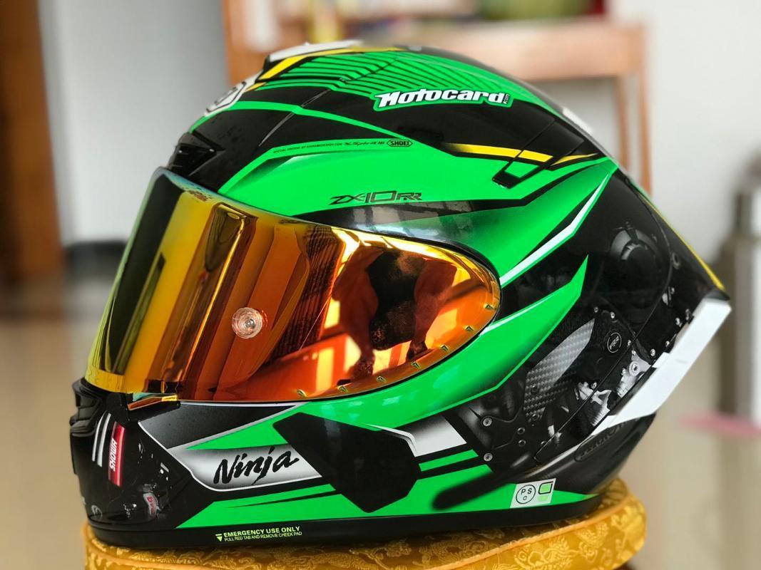 Özel Fiyat 2021 Yeni ZX Tam Yüz Kask ZX10 RR Kawa Motosiklet Casque Kask