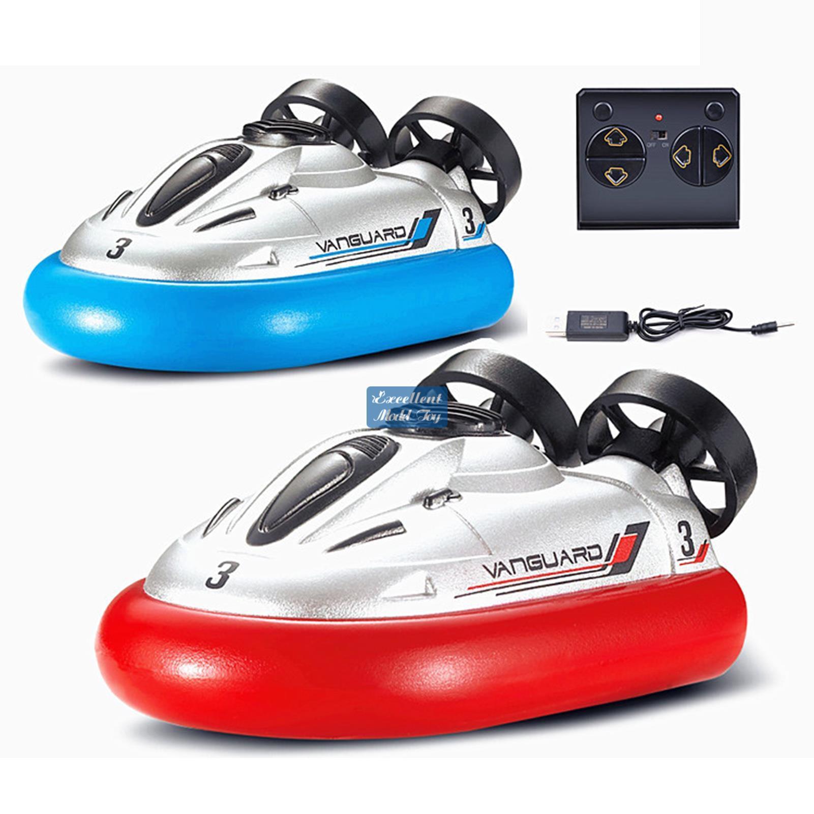 EMT BT2 2.4G Fernbedienung Mini Hovercraft Electric Boot Kid Spielzeug, Dual Motor Starke Macht, Wasserdicht, Weihnachtskinder Geburtstagsjungengeschenk, 2-1