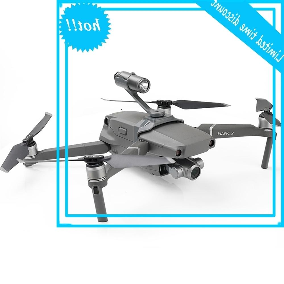 Lumières Body Top Recherche prolongée Night Flight Light Gopro Caméra Montage pour Dji Mavic 2 Pro / Zoom Drone