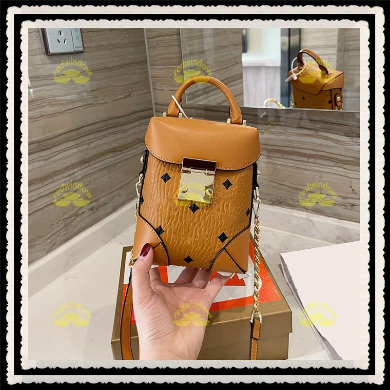 MINI LUXURYS BCKET BOLSO HOT 21030301XS-M Bolsas 2021 Bolsos de mujer Diseñadores Monederos Crossbody Handbag para mujer Marca de moda Cuero IEWAD