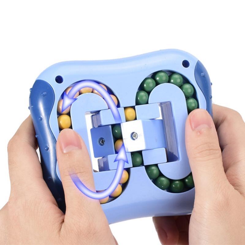 성인을위한 Magic Bean Cube 스트레스 구호 장난감 회전하기 어린이 손가락 완구 장난감 지능 게임