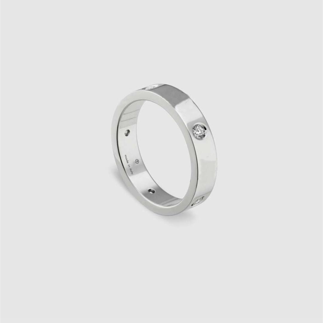 커플 링 성격 애호가 반지를위한 최고 편지 디자인 다이아몬드 스타 FashionHigh 품질 실버 도금 보석 공급
