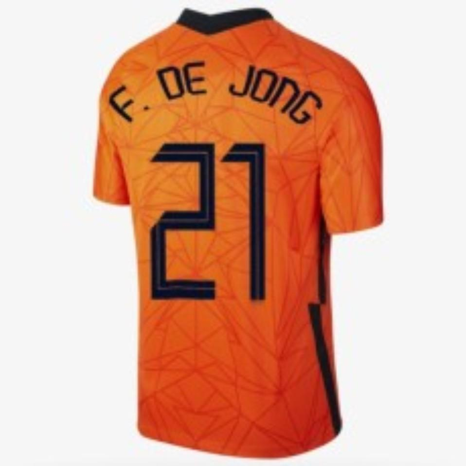 Países Bajos Memphis 2021 Camisa de Jersey de Fútbol de Jong Holland Ligt Strootman Van Dijk Virgil Fútbol Adulto Hombres + Kit Kids