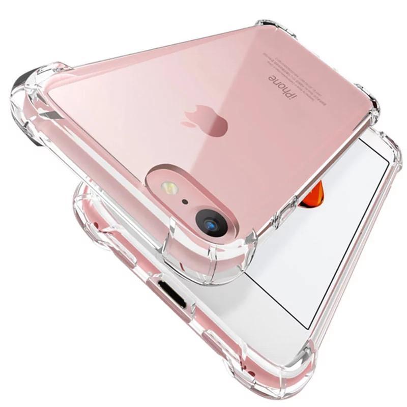Transparente Stoßdämpfe Acryl Hybrid Rüstung Hard Case für iPhone 12 11 Pro XS Max XR 8 7 6 Plus Samsung S20 Note20 Ultra