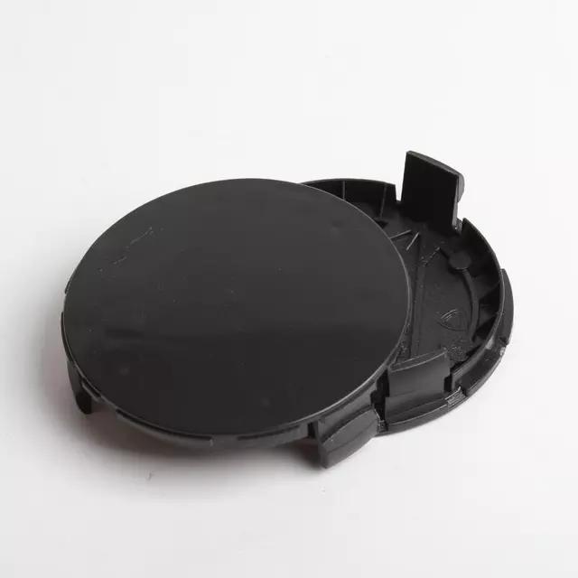 4 قطعة / الوحدة 75 ملليمتر 3pin الأزرق الداكن أسود كامل أسود عجلة مركز محور قبعات hubcap يغطي الحافات كاب ل A1714000025 سيارة التصميم