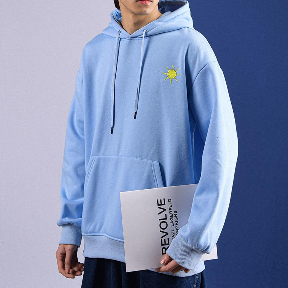 Neue 2021 Privathinker Embremodi Übergroße Kapuzensilber-Sweatshirt Männer Hoodie Winter Warme Koreanische Streetwear Gebührenece Pullover Herrenbekleidung HU2N