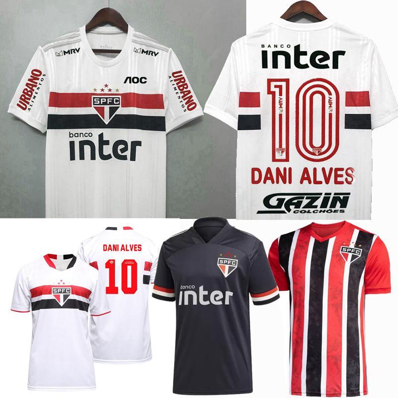 Acquista 20 21 22 22 Sao Paulo FU FUTEBOL CUBLE CALCIO JERSEY PABLO JUANFRAN HELINHO DANI ALVES 2021 2022 Camicia Da Uomo E Donne Calcio A 12,05 € Dal ...