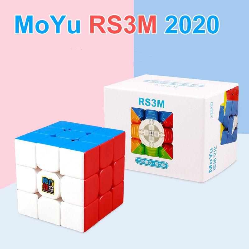Moyu RS3M 2020 магнитный RS3M 3 * 3 Волшебные головоломки скорость кубики магниты Cube 3x3 беззаконные игрушки для детей L0226