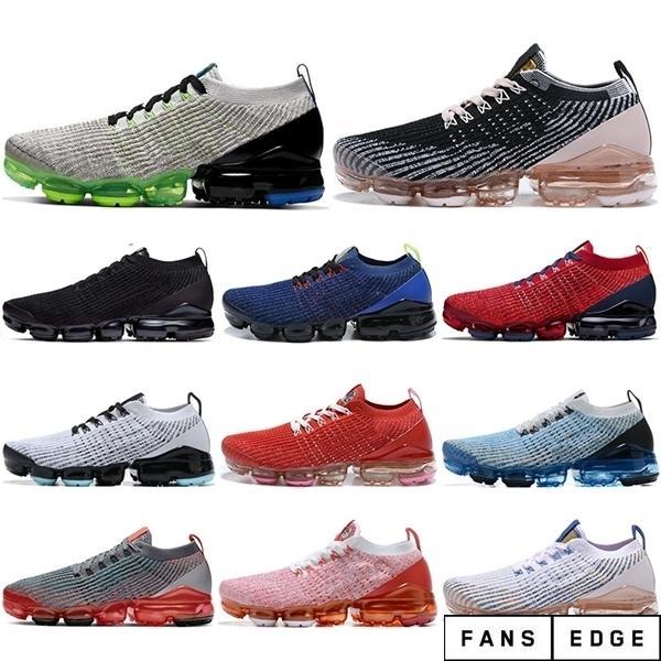 Wholesale mosca 3.0 de tricô mulheres homens correndo sapatos unisex roxo nobre vermelho triplo preto oreo esporte sneakers homens moda ao ar livre