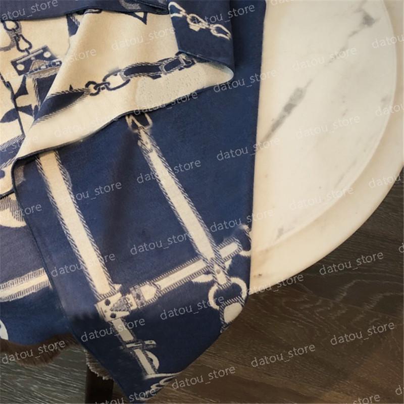 Mujeres Diseñador de lujo Cashmere Bufanda Hombre Otoño Clásico Cálido Soft Soft Show Shawal Pashmina Bufandas Manta 180 * 65 cm Letra impresa