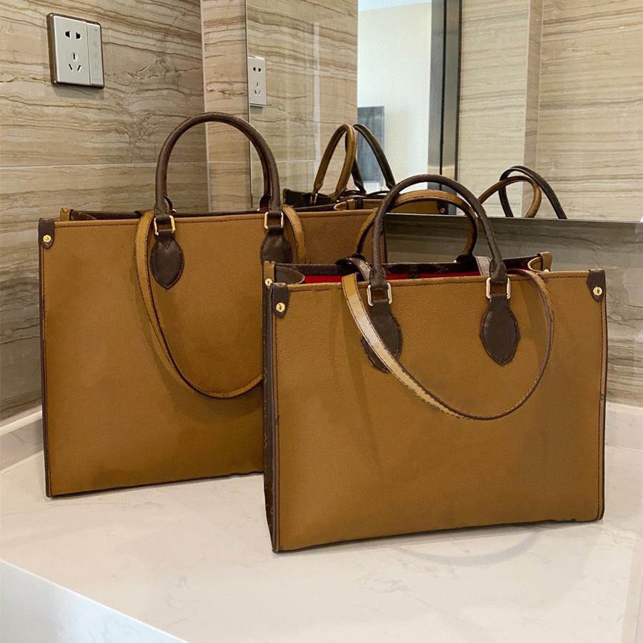 Geldbörsen Crossbody OnThego Bag Luxurys Taschen Buch Tote Handtaschen Designer 2021 Neue Schulter Einkaufsqualität Brieftaschen High GEEBC Frauen Tkkab