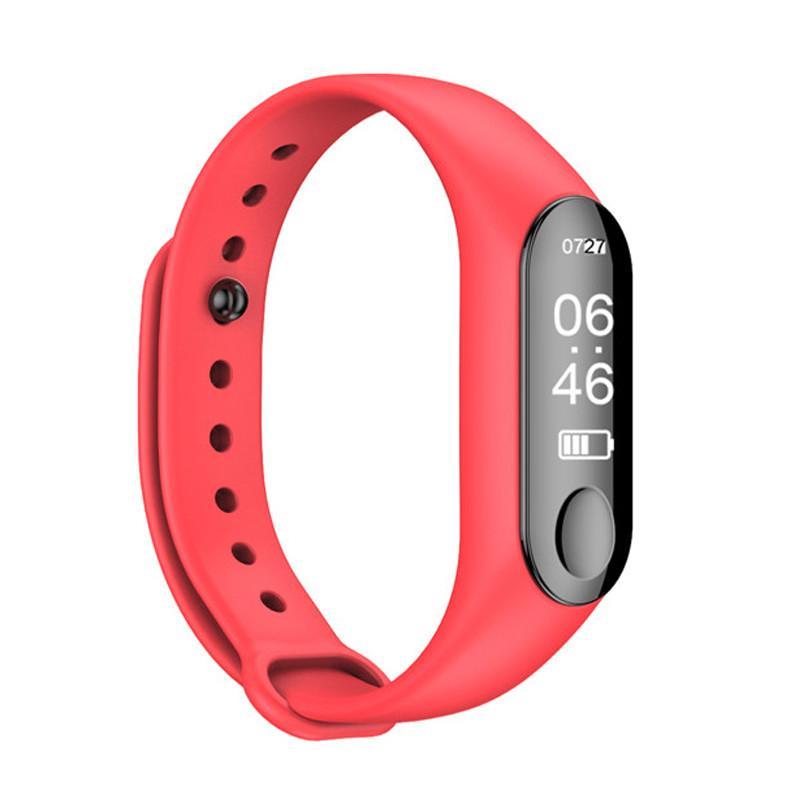 M3 Smart Armbanduhr Blutdruck Herzfrequenzmonitor Smartwatch Fitness Tracker Smart Armbanduhr für Android ios iPhone Telefon Uhr