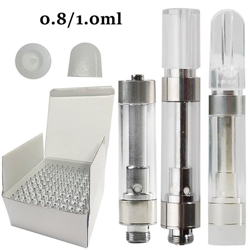 도매 Dank Vapes G5 M6T vape 펜 카트리지 세라믹 코일 510 스레드 카트 두꺼운 오일 아크릴 왁스 기화기 분무기 전자 담배 비어있는