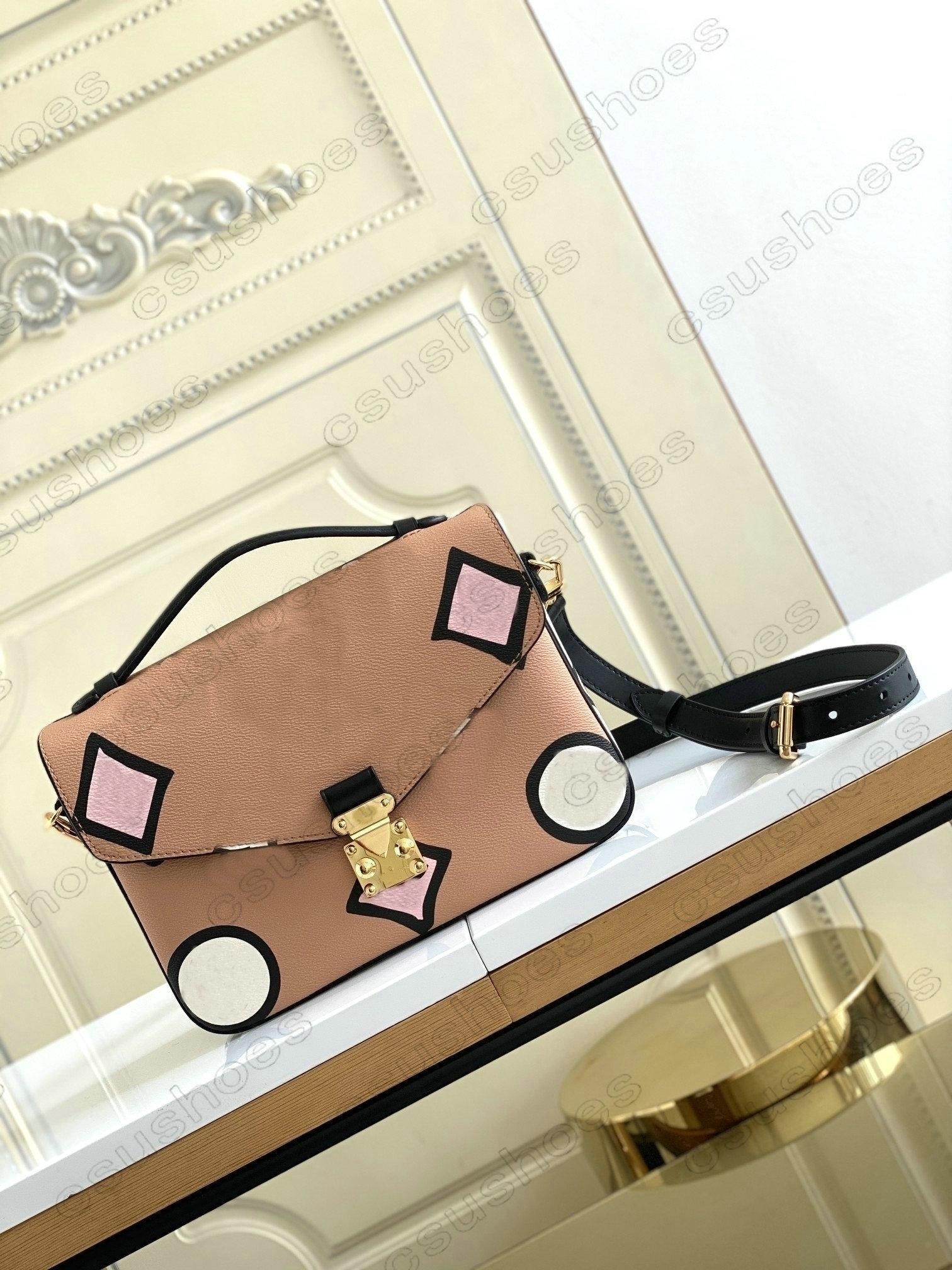 Женские Pochette Métis Bag Crossbody Messenger Дизайнерские Сумки на плечо Сумки Подгоняки Lady Metis Служба Сумки Значок M40780 M44876
