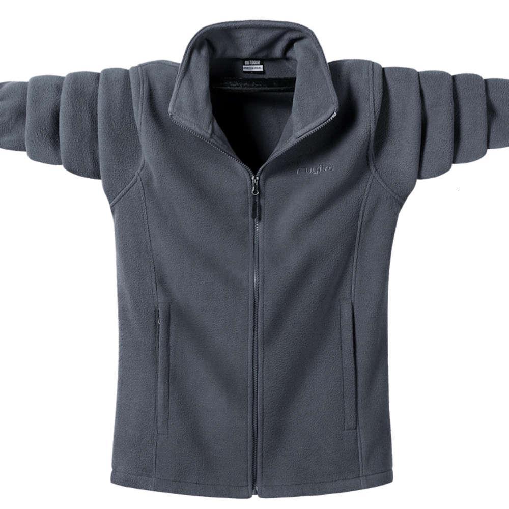 Мужская Тактическая пиджака Softshell Весна Осень Повседневная Стенд Воротник Термальные Пальто 7XL 8XL 9XL Спортивная одежда Туризм Горные Куртки