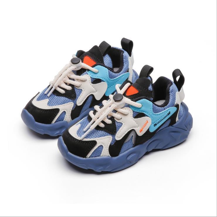 Детская обувь Весна Осень Осень Дышащие спортивные кроссовки Светлые Обувь для детей Детские кроссовки для мальчиков для мальчиков