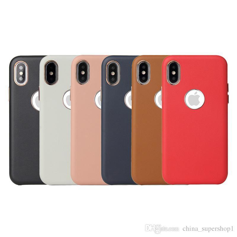 Funda de cuero de la PU Offical Cubierta de calidad superior para el nuevo iPhone SE2020 6 6PLUS 7 7PLUS 8 8PLUS Funda de calidad superior para iPhone X con agujero