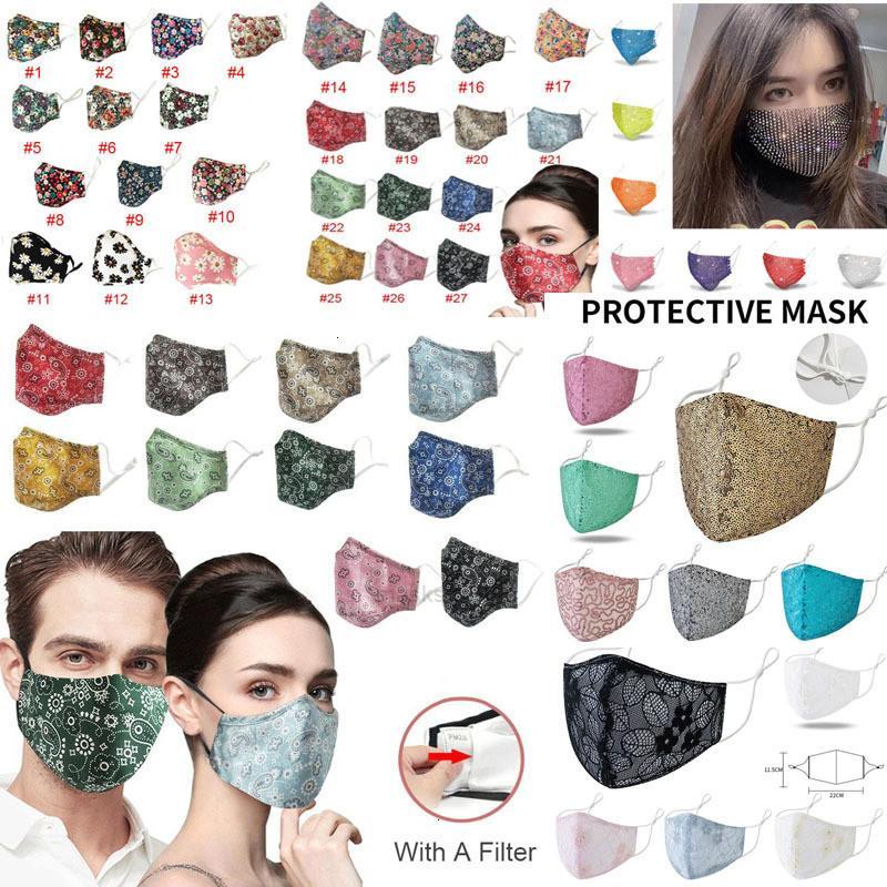 Мода PM2.5 дизайнерское лицо пыленепроницаемая пылевая маска против гриппа частиц респиратора защитные маски S XHBVIA