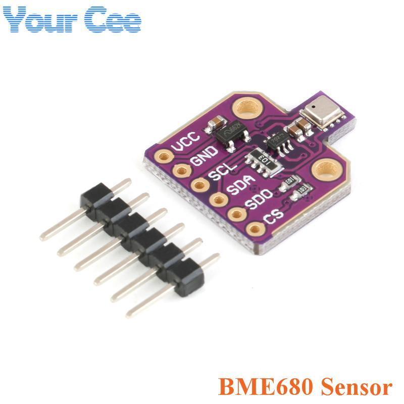 Integrated Circuits BME680 Digital Temperature Humidity Pressure Sensor CJMCU-680 High Altitude Module Development Board