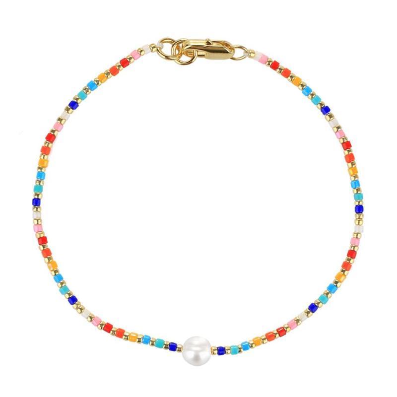 Braccialetto Kelitch Braccialetto per perline perla perla estate spiaggia Pulseras braccialetti di alta qualità regalo gioielli