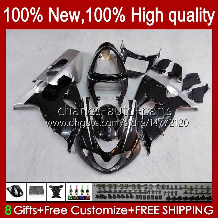 Bodywork pour Suzuki Srad TL1000R TL 1000R TL1000 R 98 99 00 2001 2002 2003 Body 19HC.6 TL-1000R 98-03 TL-1000 TL 1000 R 1998 1999 2000 01 02 03 Kit de carénage OEM Glossy argenté