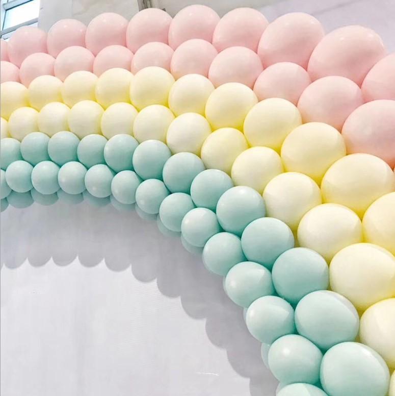 5 인치 마카롱 사탕 파스텔 풍선 라텍스 라운드 헬륨 풍선 아치 장식 생일 파티 Baloons 도매