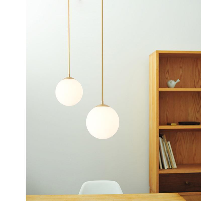 Pendant Lamps Nordic Led Stone Iron Chandelier Hanging Lights Lamp Retro Modern Dining Rooom Livingroom