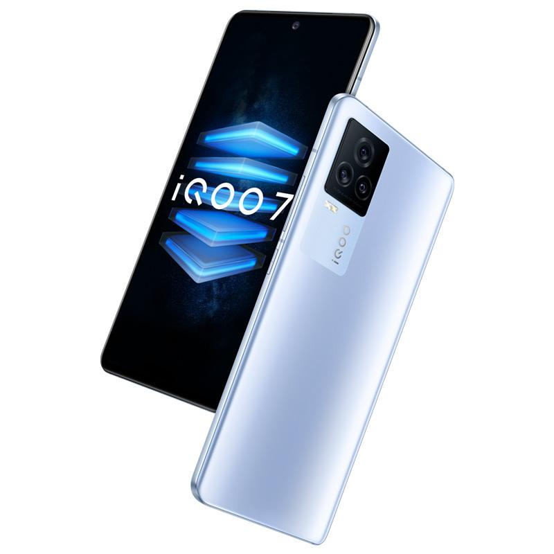 "Original vivo iqoo 7 5g Handy 8 GB RAM 128 GB ROM Snapdragon 888 48MP AR NFC OTG 4000mAh Android 6.62 ""Am gelöster Vollbild-Fingerabdruck-ID FACE WACK SMART-Handy"