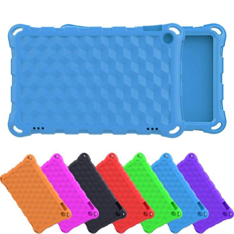 EVA Drop Protection Tablet Case Capa Para Amazon Kindle Fire HD 7 8 10 Polegadas 2020 2019 2017 Crianças Capitais à prova de choque para ipad mini 3 4 5