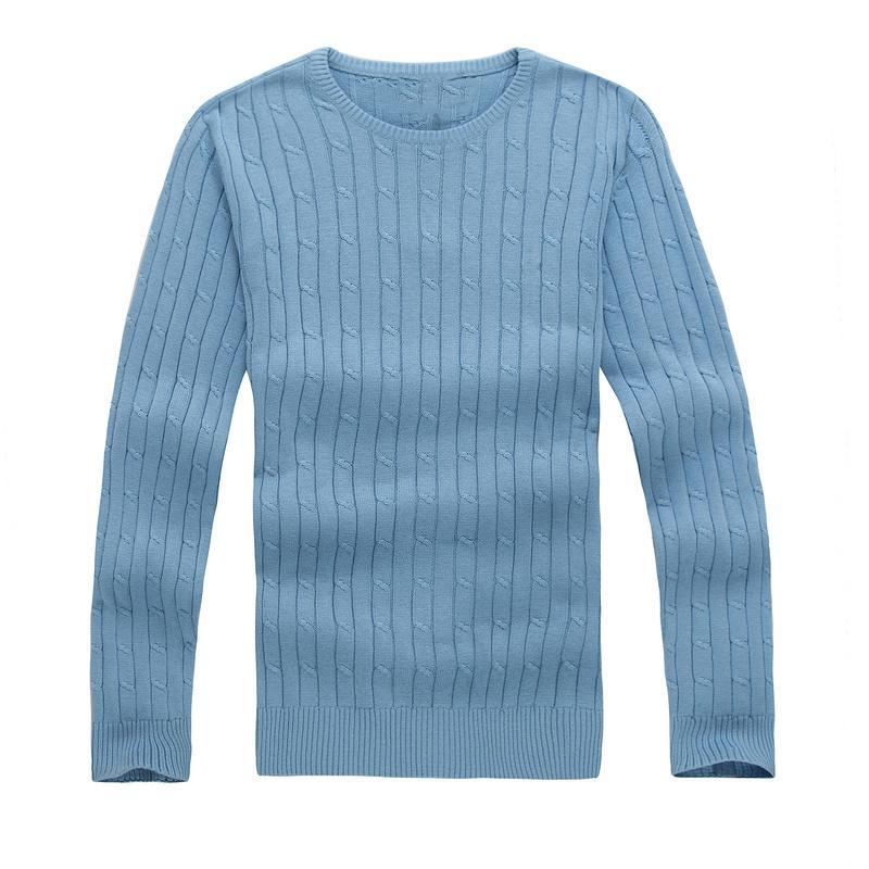 Hommes Petite cheval Coton Coton Coton Pull à cheval automne Hiver Jersey Jumper Hombre Pull Homme Homme Pull Hommes Sweaters tricotés