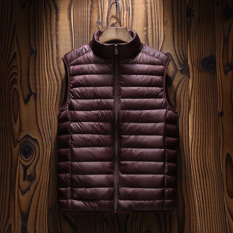 Erkek yelek yelek adam pamuk kalınlaşmak yelek erkekler ceket marka erkek kolsuz ceketler rahat palto