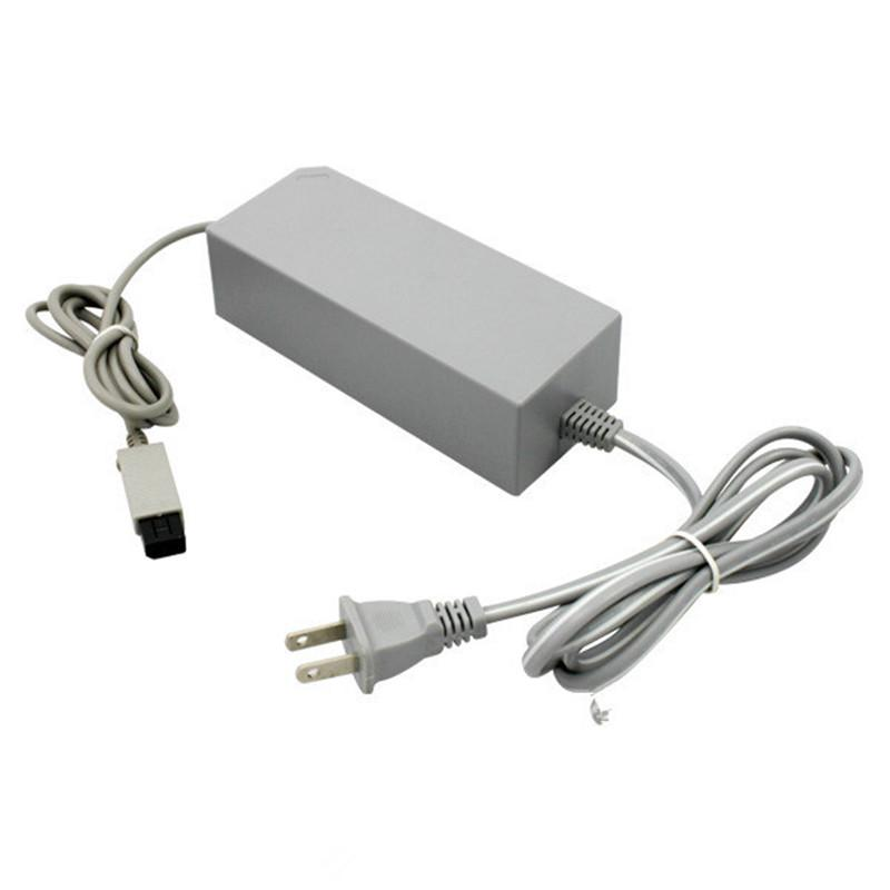 AC 100-240V 12V 3.7A Charging Cable EU US Plug Power Supply Adapter Charger for Nintendo Wii Game Console Controller