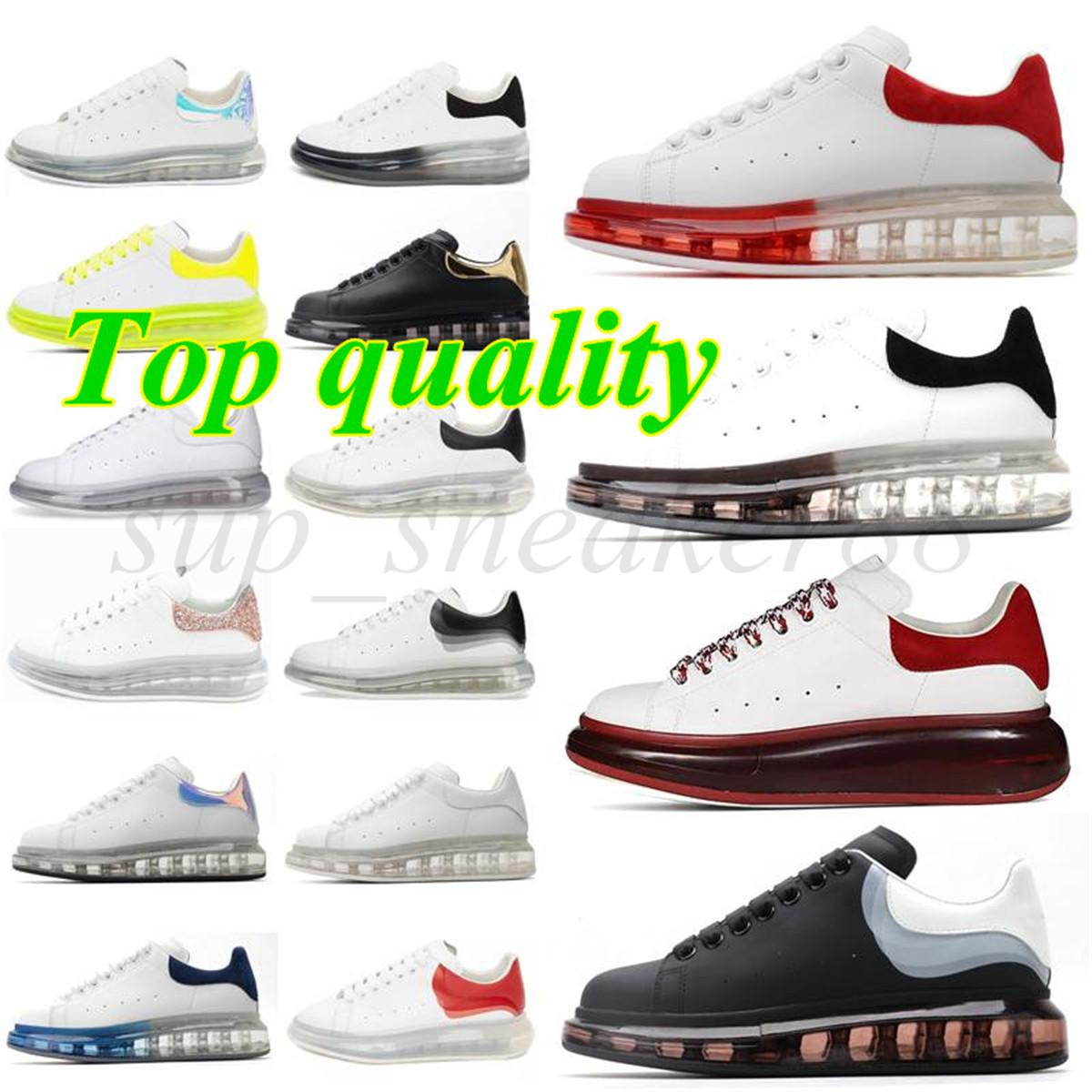 Cristal Sapatos Preto Plataforma Branca Classic Casual Mens Mulheres Sneakers Designer Dress Bottom Shoe Sports