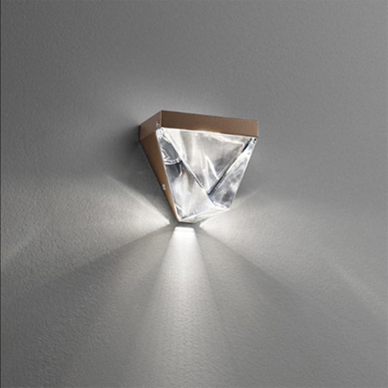 LED kristal duvar lambası modern minimalist yatak odası başucu koridor koridor giriş arka plan açık lüks duvar lambası