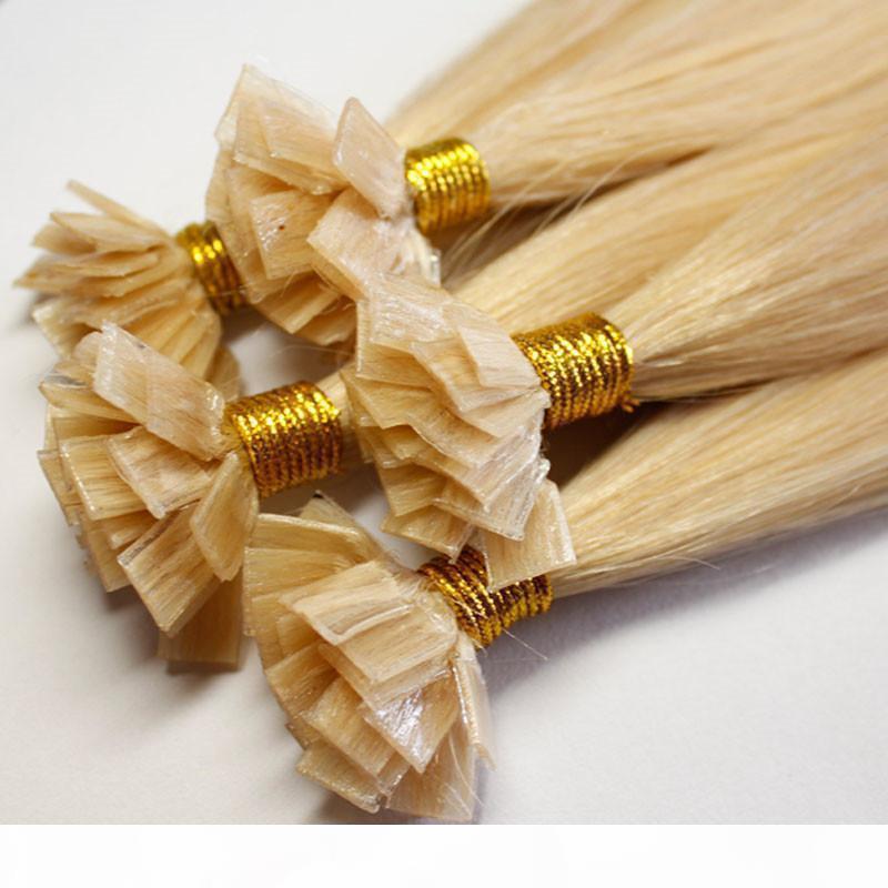 Venta caliente 300G 300strands Extensiones de cabello con punta plana pre-unida 16 18 20 22 24 pulgadas de 24 pulgadas de 24 pulgadas LANDIIAN LAS Extensiones de cabello humano Envío gratis