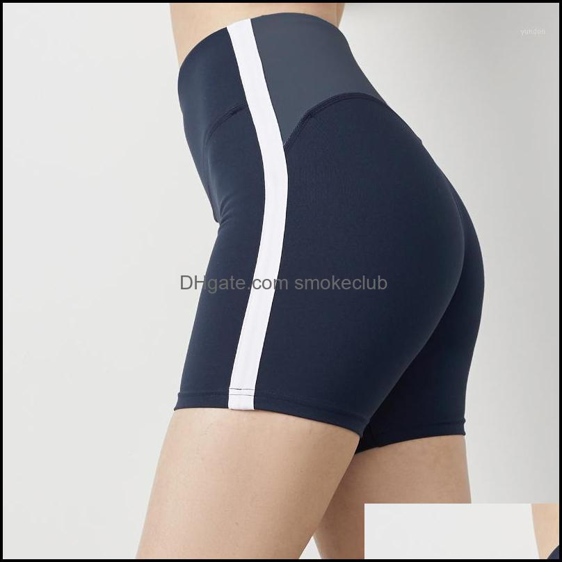 Yoga Exercise Wear Athletic Outdoor Apparel & Outdoorsyoga Outfits Tight Sports Shorts Womens Fitness High Waist And Hip Lifting Running Com