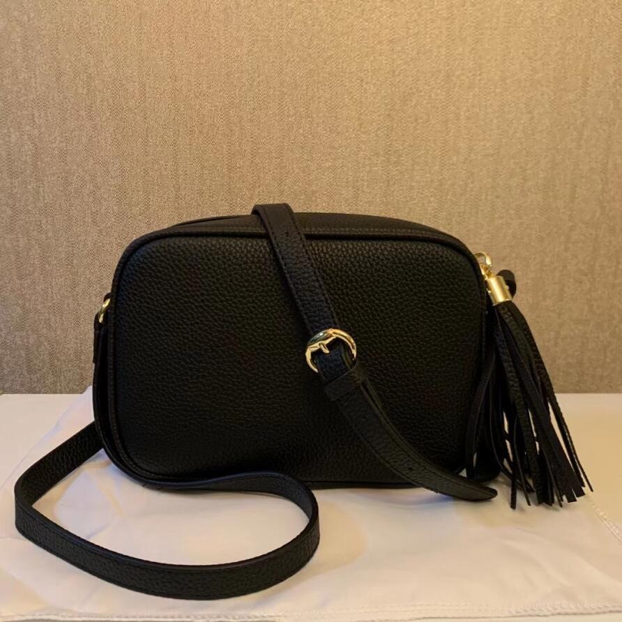 Женская кожаная кисточка кошелек сумки сумки сумки сумки Crossbody Soho сумка диско сумка боевые мешки