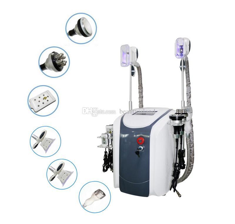6 in 1 lipo laser cavitation rf 초음파 지방 흡입 기계 Cryolipolysis 뚱뚱한 동결 냉동 체중 감소 기계