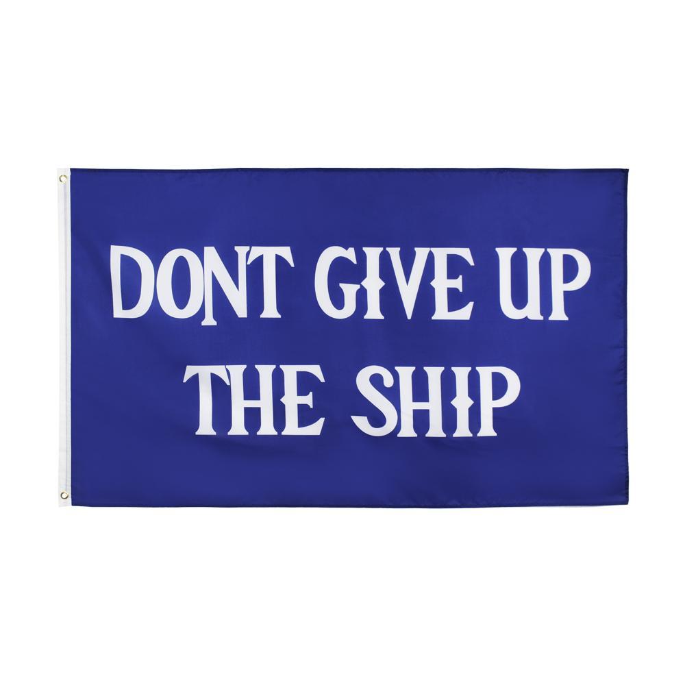 Gemi Bayrak 3x5 Ft Ayak Korsan Mavi Bayrak Bayrakları Banner 90 * 150 cm Polyester Pirinç Grommets ile Ev Bahçe Duvar Tekne Dekor