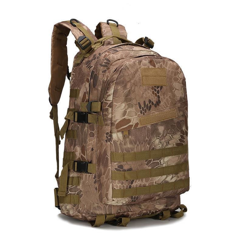 Mochila nylon 40l para homens mulheres camuflagem sacos do exército mochila militar casual viagem à prova d'água