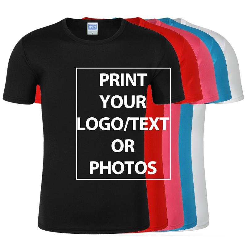 100% polyester conception vos propres t-shirts Imprimer Images de marque T-shirt personnalisé T-shirt Plus Taille T-shirt Casual T-shirt Personnaliser Vêtements C0308