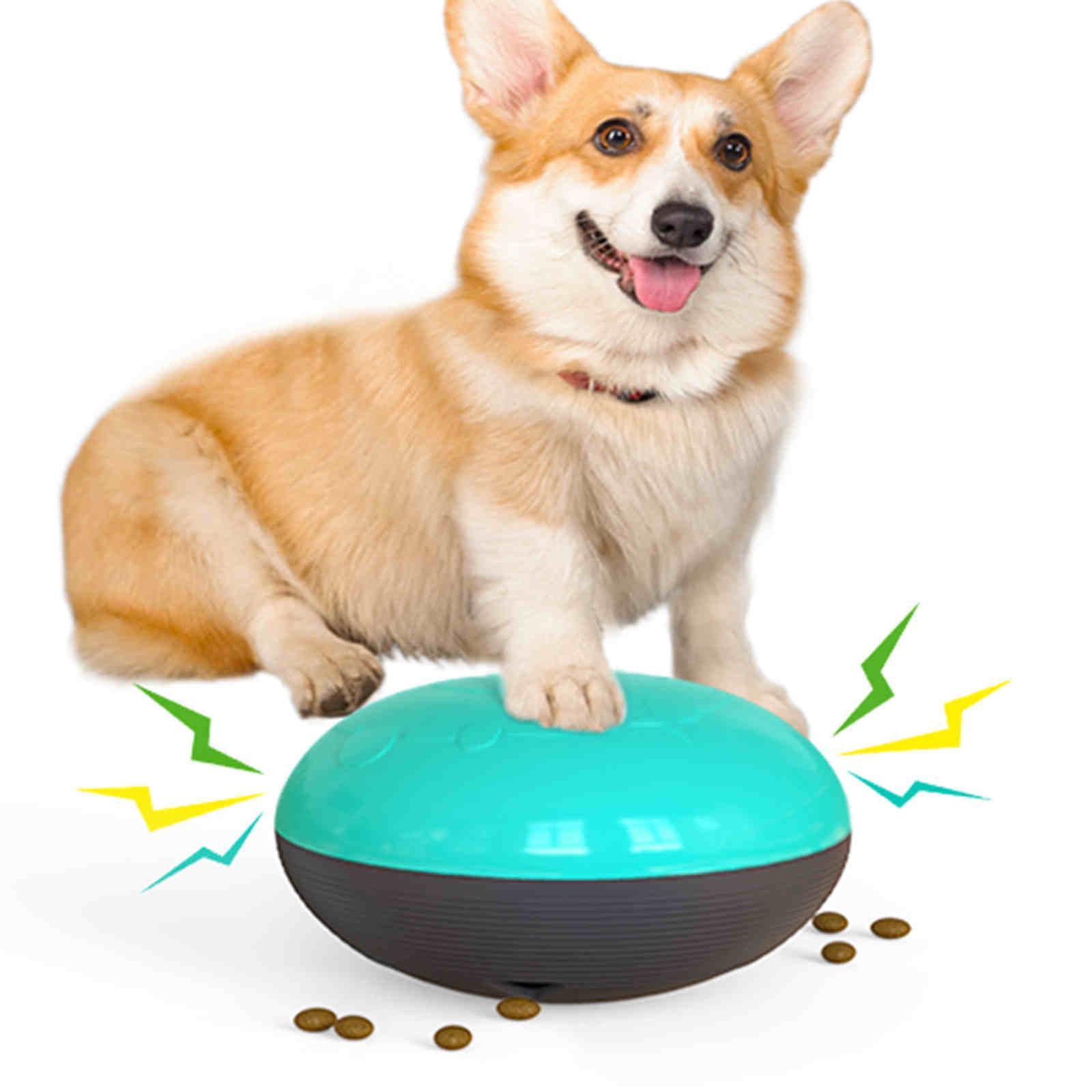 Brinquedo de gato de deslizamento interno choca dentes comida filhote de cachorro vazamento bola animal de estimação suprimentos cão mastigar brinquedos interativos